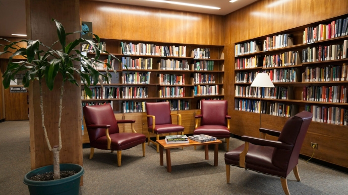 The Farnsworth Room at Lamont Library