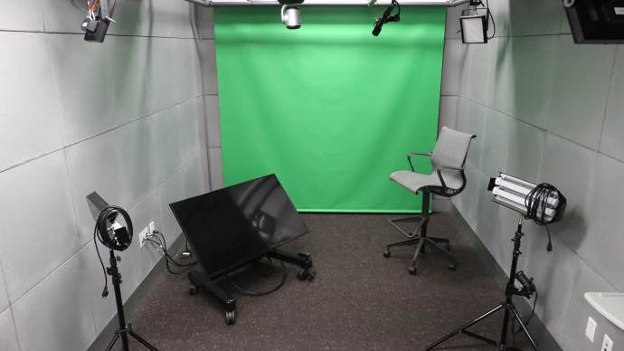 One of Cabot's two media production studios