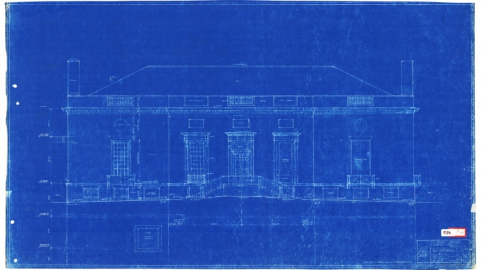 Houghton blueprint
