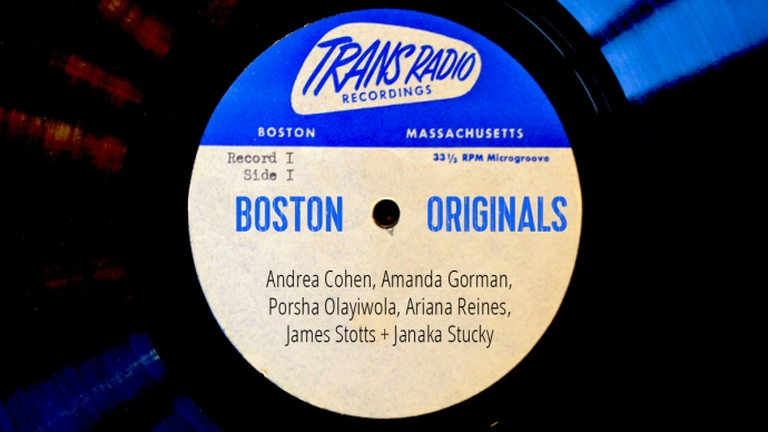Boston Originals LP disc