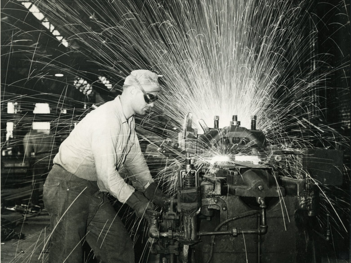 Resistance welder, Johnstown-Lorain Works