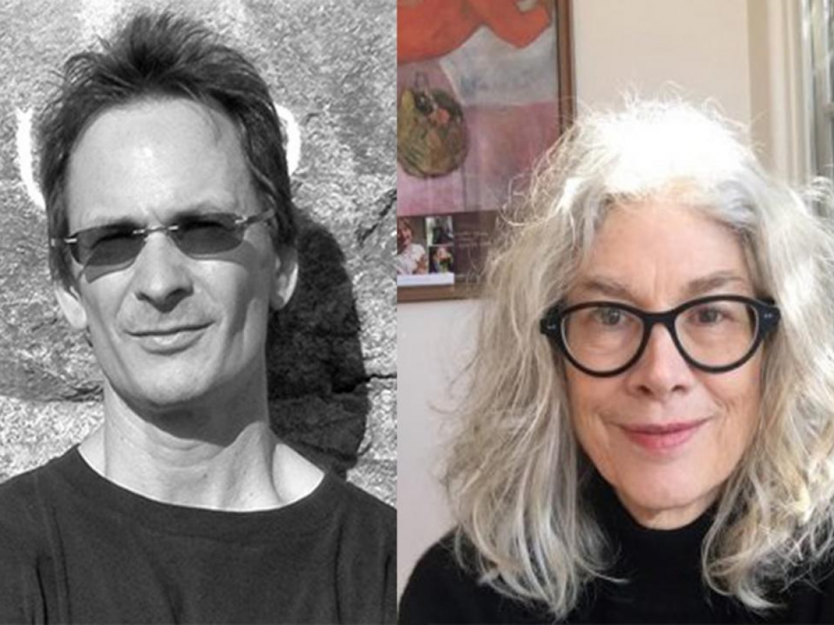 Forrest Gander and Brenda Hillman