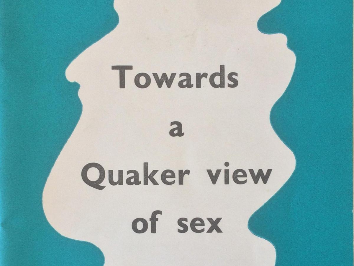 """""""Towards a Quaker View of Sex"""" book cover"""