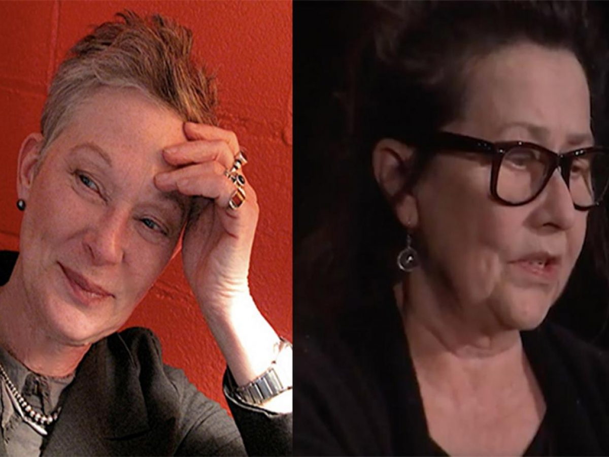 Ann Lauterbach and Dara Wier