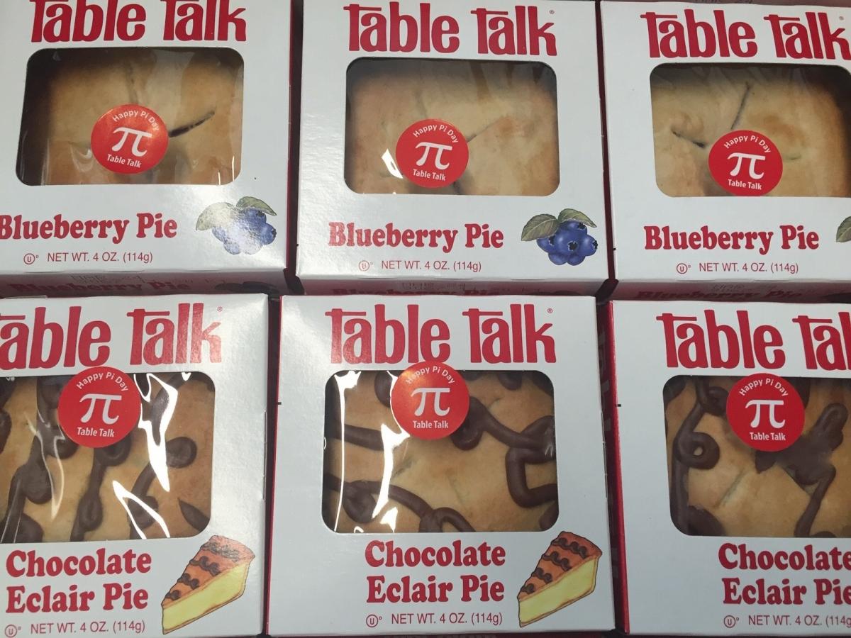 Pi Day pie