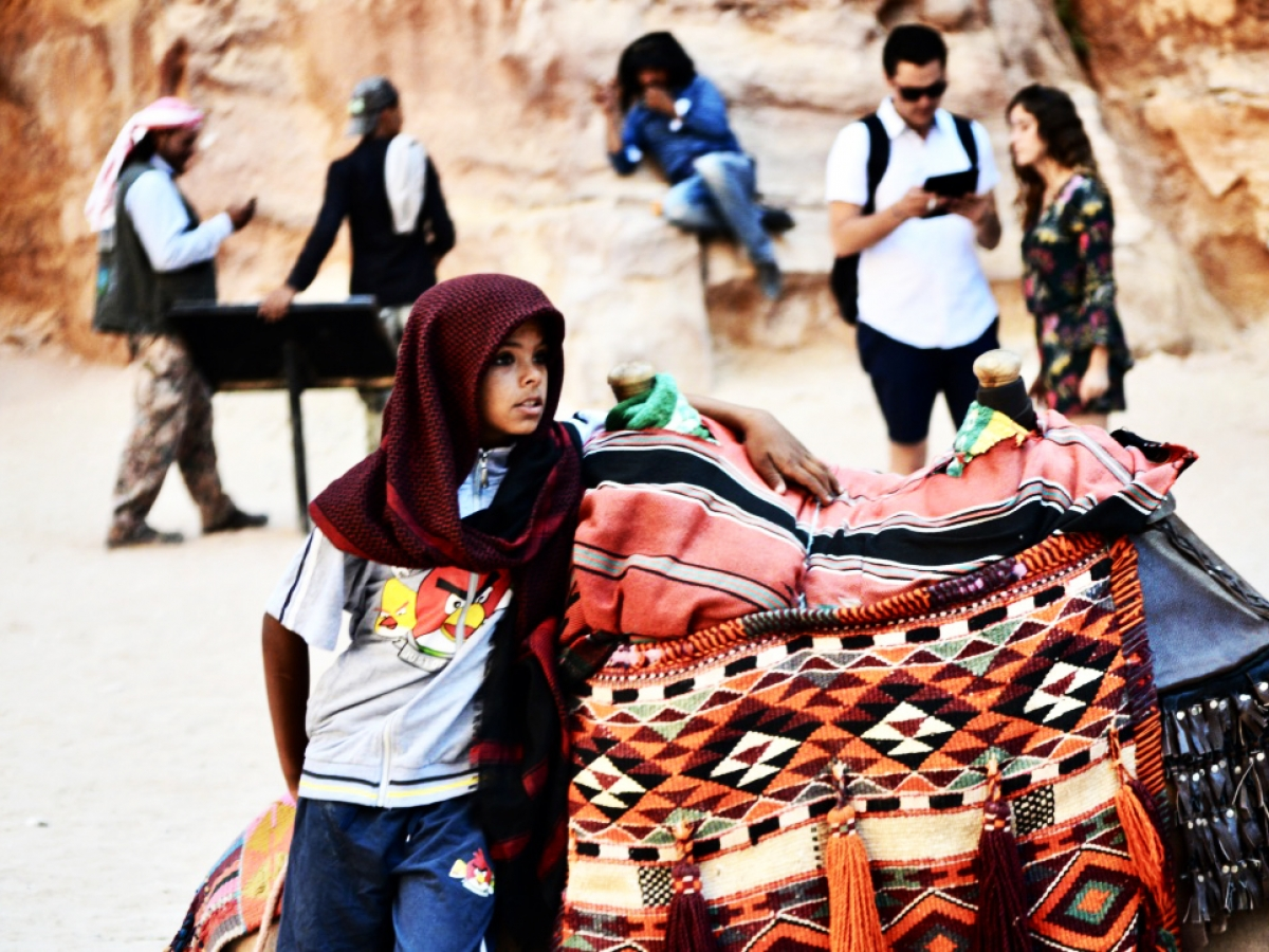 Angry Birds, Petra, Jordan, by Brittany Ellis.