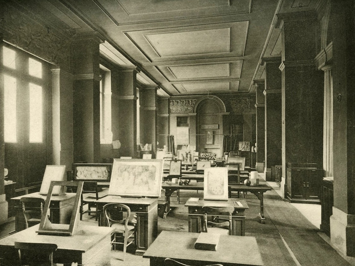 The Ruskin Drawing School, Oxford, ca. 1904