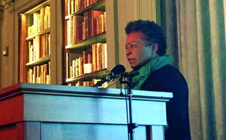 Claudia Rankine reads from CITIZEN