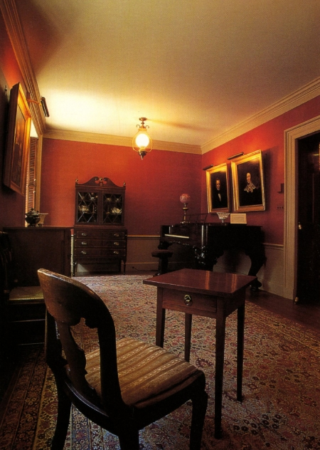 The Emily Dickinson Room, Houghton Library.