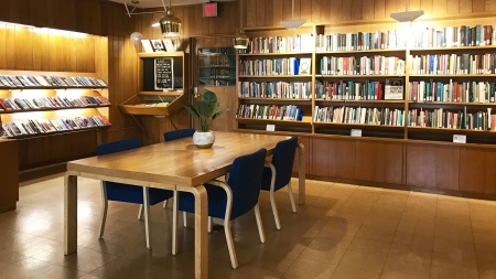 Inside the Woodberry Poetry Room