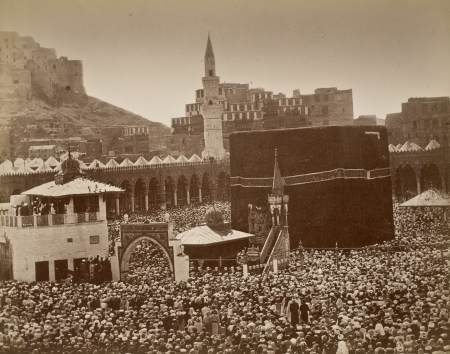 A view of Mecca circa 1880