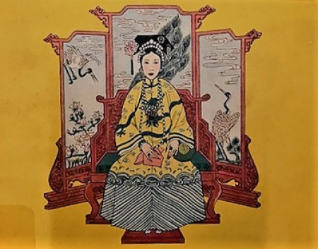 "Harry Hussey's ""A Venerable Ancestor: The Life and Times of Tz'u Hsi 1835-1908, Empress of China,"" 1949."