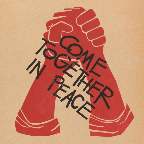 Come Together in Peace, 1969 student strike poster, Harvard University Archives