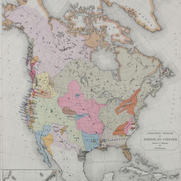 indigenous languages map