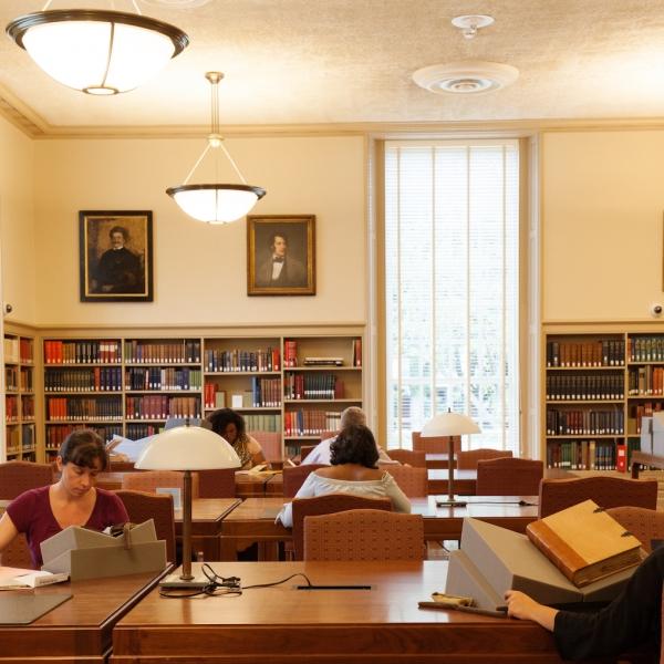 houghton reading room