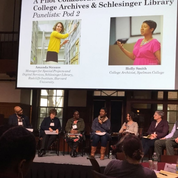 Panelists at Radcliffe Conference